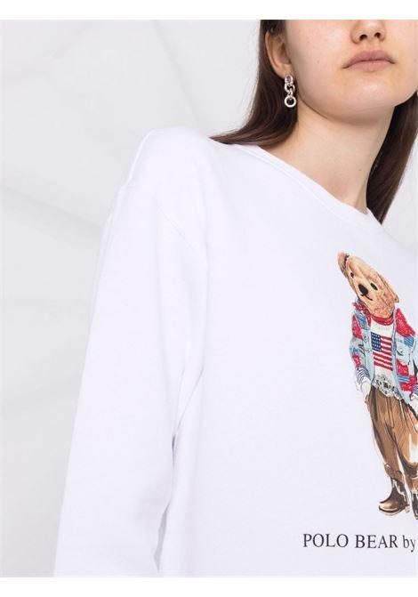 White sweatshirt POLO RALPH LAUREN | SWEATSHIRTS | 211843273001