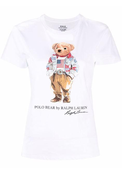 T-shirt bianca POLO RALPH LAUREN | 211843279001