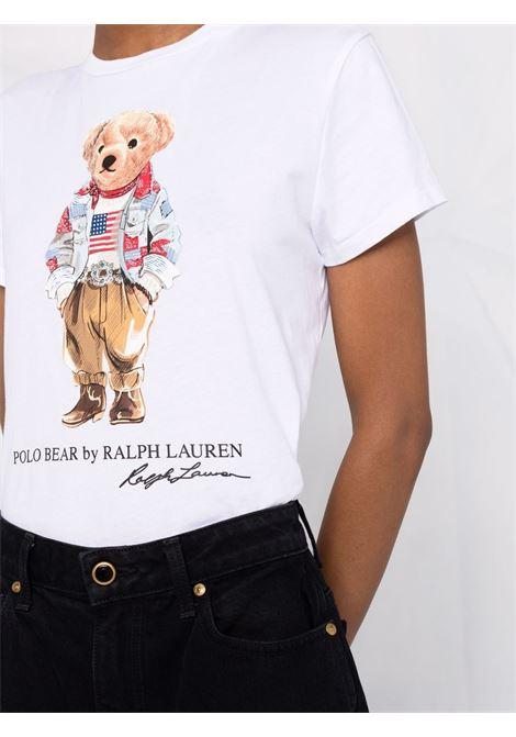White t-shirt POLO RALPH LAUREN | T-SHIRT | 211843279001