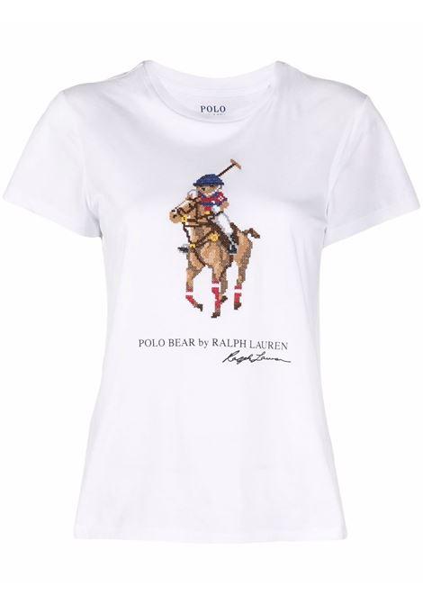 White t-shirt POLO RALPH LAUREN | 211843283001