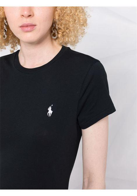 Black t-shirt POLO RALPH LAUREN | T-SHIRT | 211847073008