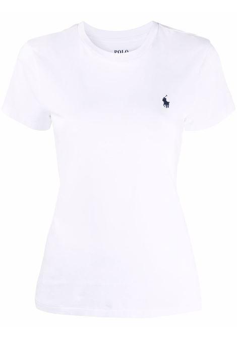 T-shirt bianca POLO RALPH LAUREN | 211847073009