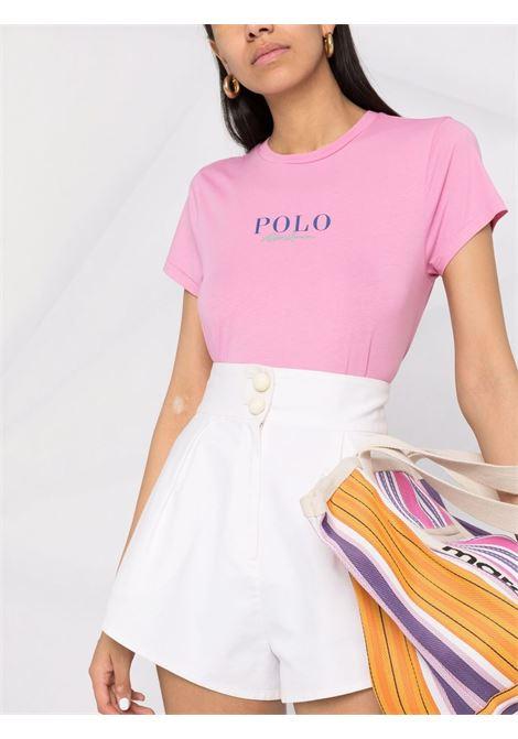 Pink t-shirt POLO RALPH LAUREN | T-SHIRT | 211847078003