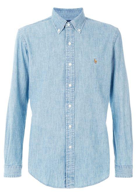 Camicia blu POLO RALPH LAUREN | 710548538001