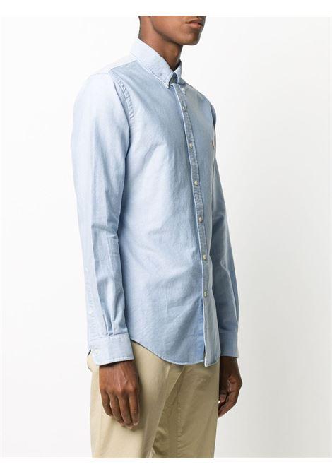 Camicia blu POLO RALPH LAUREN | 710549084007