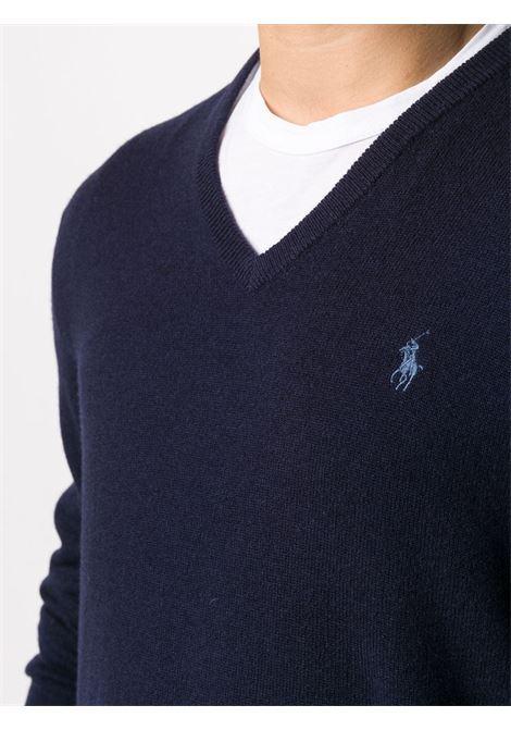 Maglia  blu POLO RALPH LAUREN | MAGLIE | 710667377002