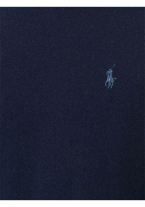 Maglione nero POLO RALPH LAUREN | MAGLIONE | 710667378004