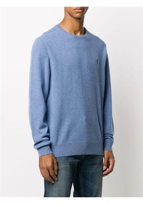 Maglione blu POLO RALPH LAUREN | MAGLIONE | 710667378015