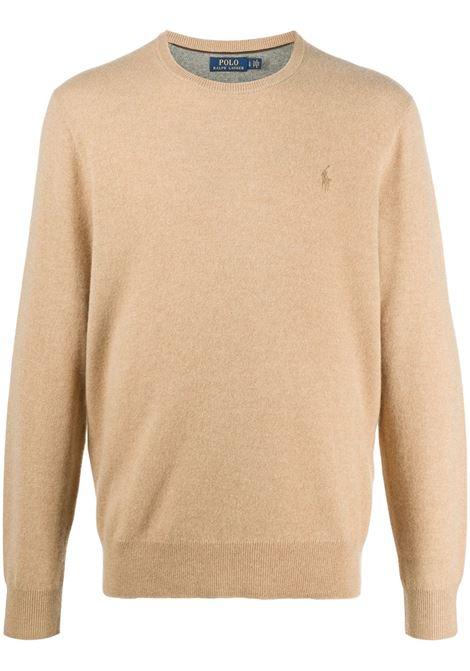 Maglione beige POLO RALPH LAUREN | MAGLIONE | 710667378021