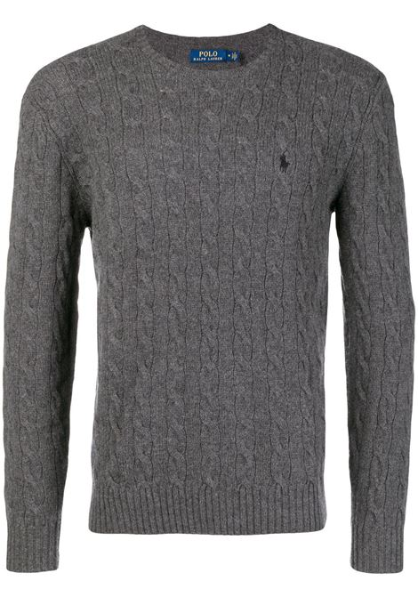 Maglione grigio POLO RALPH LAUREN | 710719546002