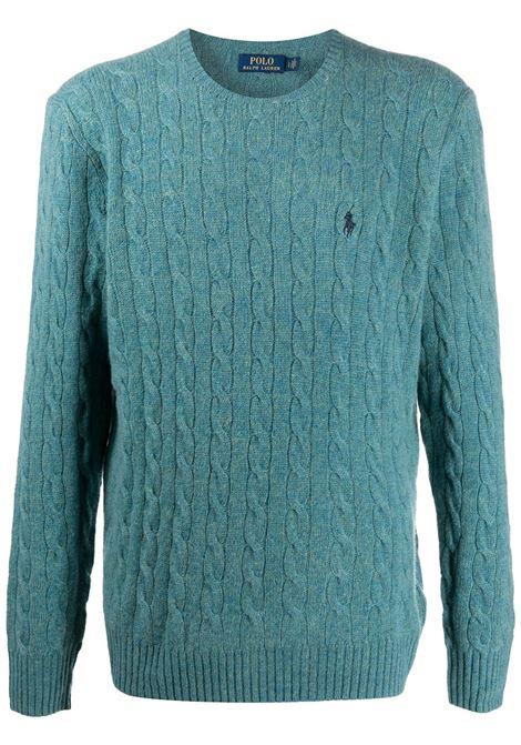 Maglione blu POLO RALPH LAUREN | 710719546029