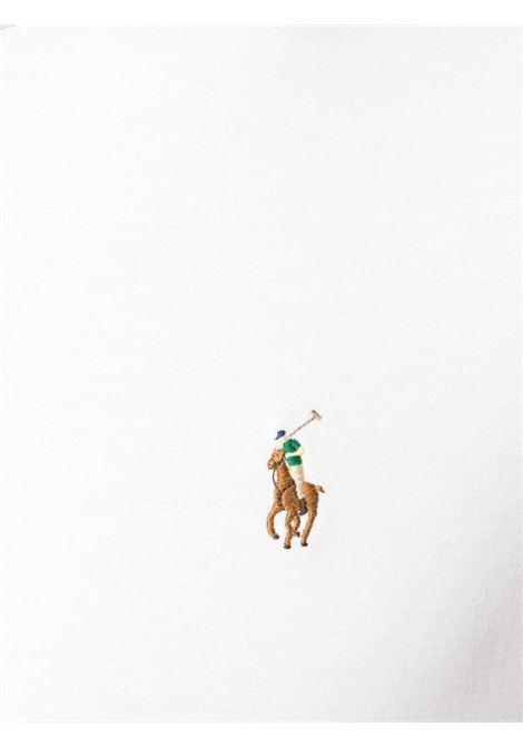T-shirrt bianca POLO RALPH LAUREN | T-SHIRT | 710740727002