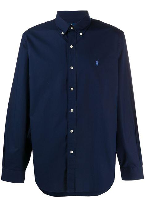 Camicia blu POLO RALPH LAUREN | CAMICIE | 710792044005