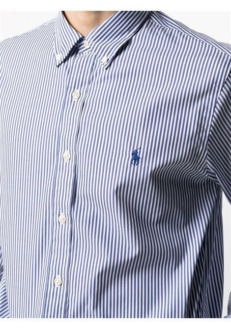 Camicia blu/bianco POLO RALPH LAUREN | CAMICIE | 710804256001