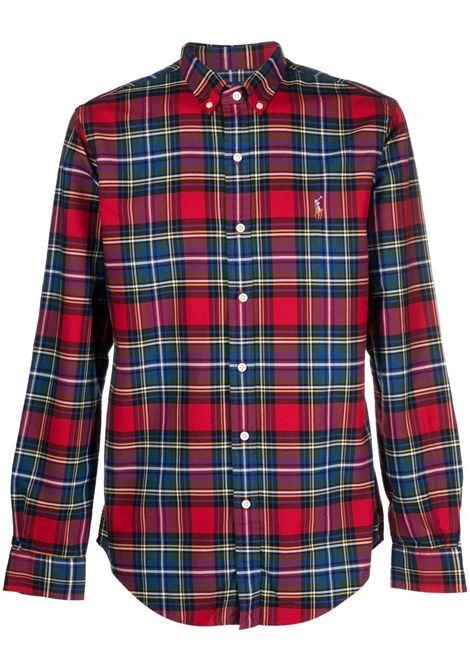 Camicia rosso/verde/bianca POLO RALPH LAUREN | 710853154001
