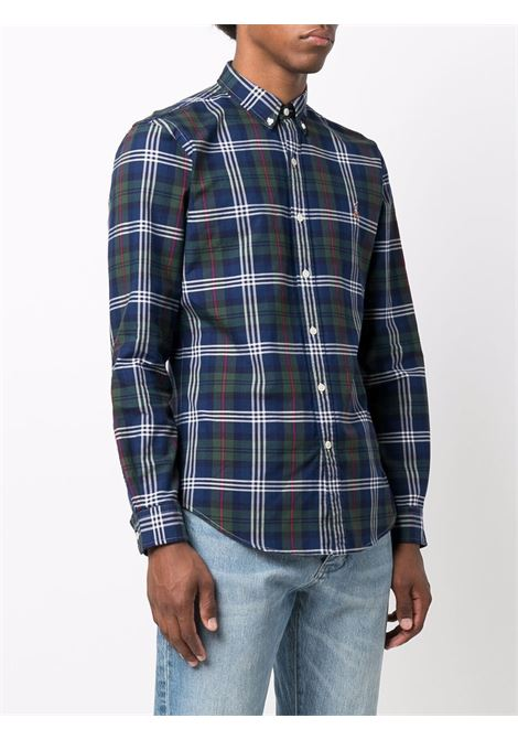 Camicia blu/multicolore POLO RALPH LAUREN | 710853155001