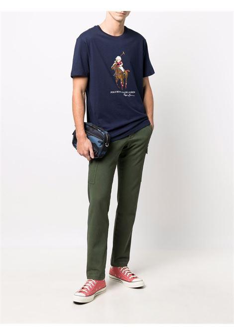T-shirt blu POLO RALPH LAUREN | 710853310002