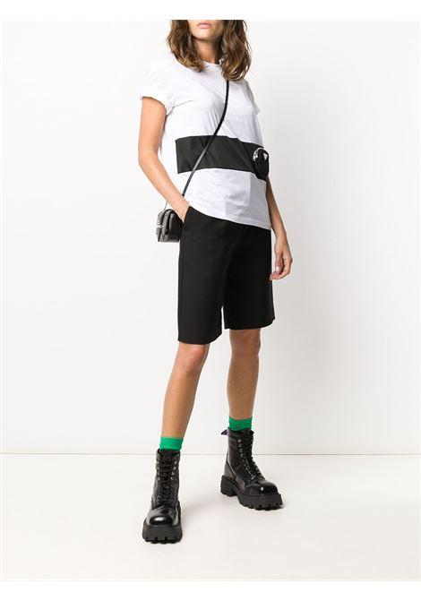 White t-shirt PRADA | 135684S2021XBHF0964