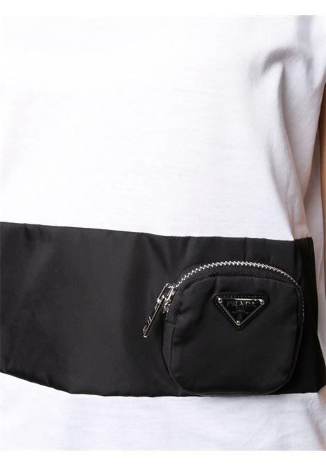 T-shirt bianca PRADA   T-SHIRT   135684S2021XBHF0964