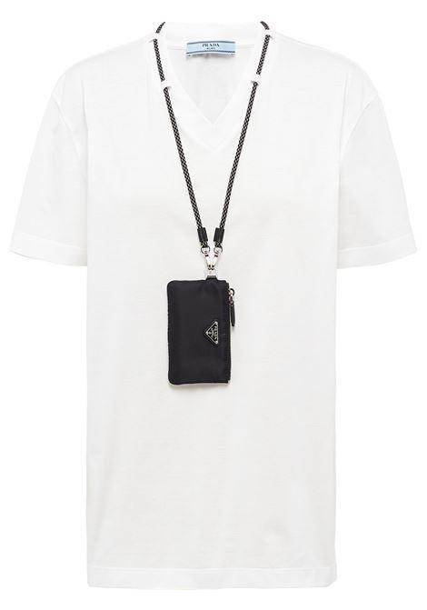 White t-shirt PRADA | T-SHIRT | 135699S2121XBHF0964