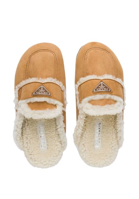 Beige slippers PRADA | SLIDES | 1S711MF0201A6F0046