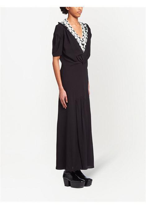 Black dress PRADA | DRESS | P3F93S2121ZP0F0EGW