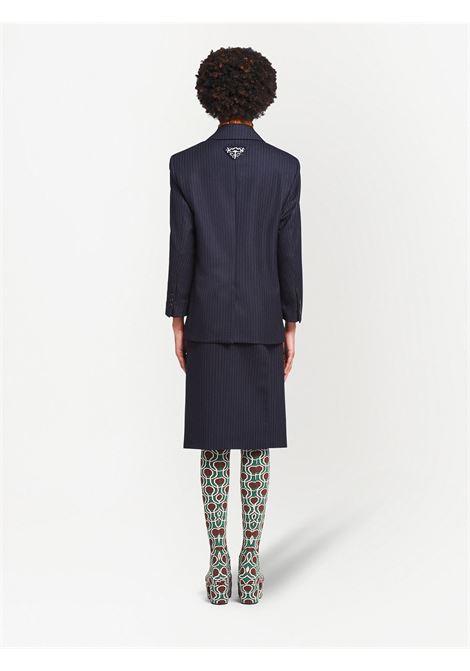 Blue blazer PRADA | JACKETS | P599LS2121ZM6F0124