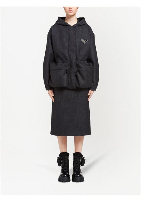 Black jacket PRADA | JACKETS | P667OS2121Y34F0806