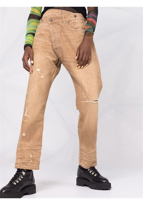 Jeans marrone kaki R13 | JEANS | R13W2048D011DKHAKI
