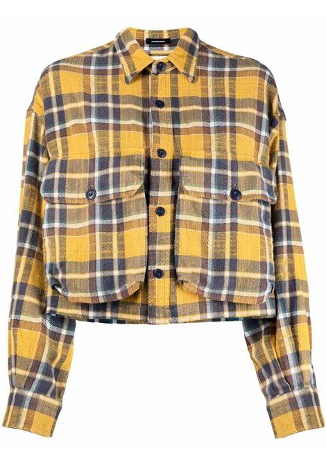 Camicia giallo/blu R13 | R13WR014R015BYLPL