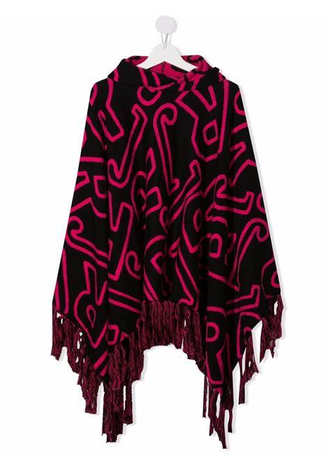 Black/pink cape RICHMOND KIDS | RGA21050MTRIBJRTBKPK