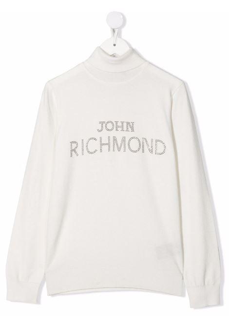 White jumper RICHMOND KIDS | RGA21058LURITOFFWHITE