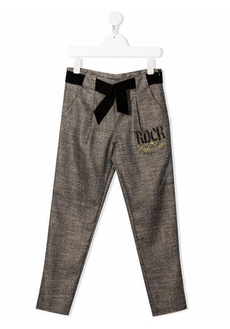 Brown trousers RICHMOND KIDS | RGA21089PAHBFANTCHECK