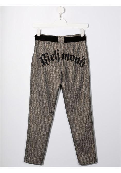 Brown trousers RICHMOND KIDS | RGA21089PAHBTFANTCHECK