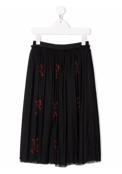 Black/red skirt RICHMOND KIDS | RGA21125GOHBBLACKRED