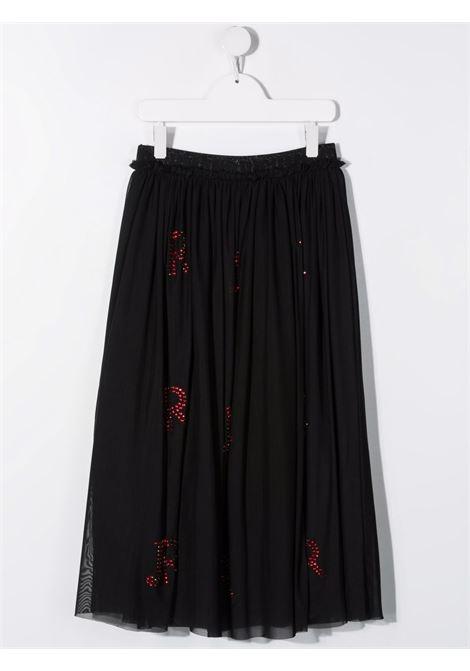 Black/red skirt RICHMOND KIDS | RGA21125GOHBTBLACKRED