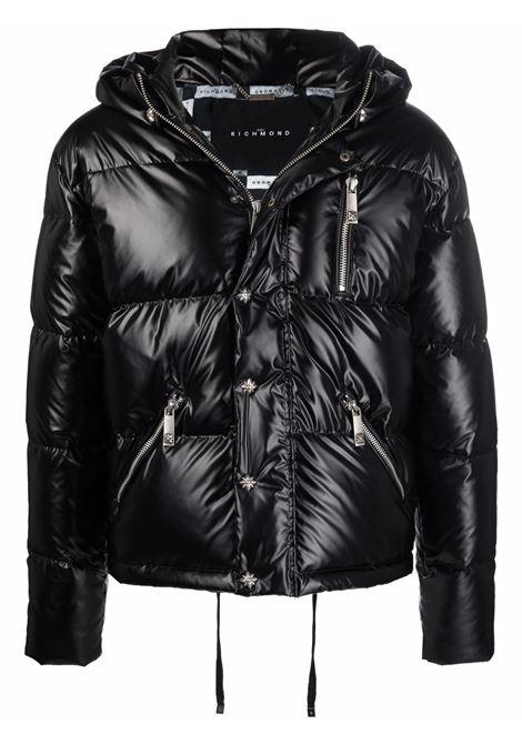 Black jacket RICHMOND   RMA21013PIHBBLACK