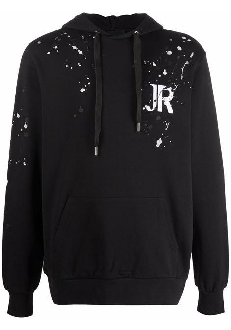 Black sweatshirt RICHMOND   RMA21121FEA8BLACK
