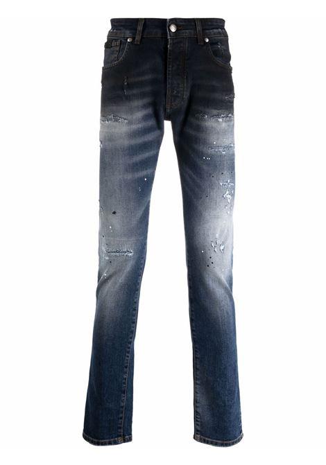 Brown jeans RICHMOND   RMA21220JEI5DBLUEMED