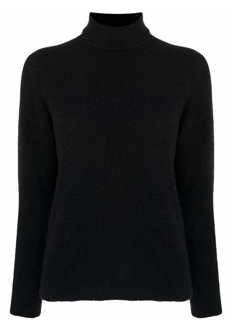 Black jumper ROBERTO COLLINA   F01003F0109