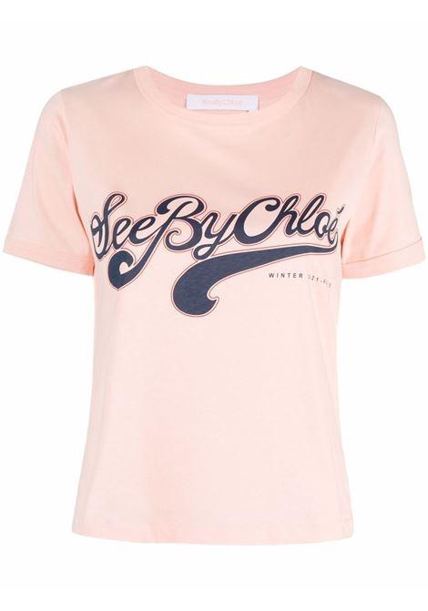 T-shirt con logo SEE BY CHLOE' | CHS21WJH011106T8