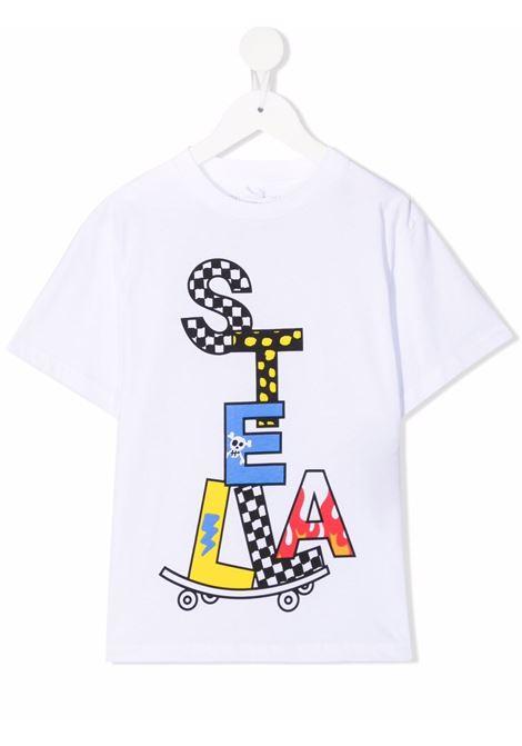 T-shirt bianca STELLA Mc.CARTNEY KIDS | T-SHIRT | 602253SQJ929000