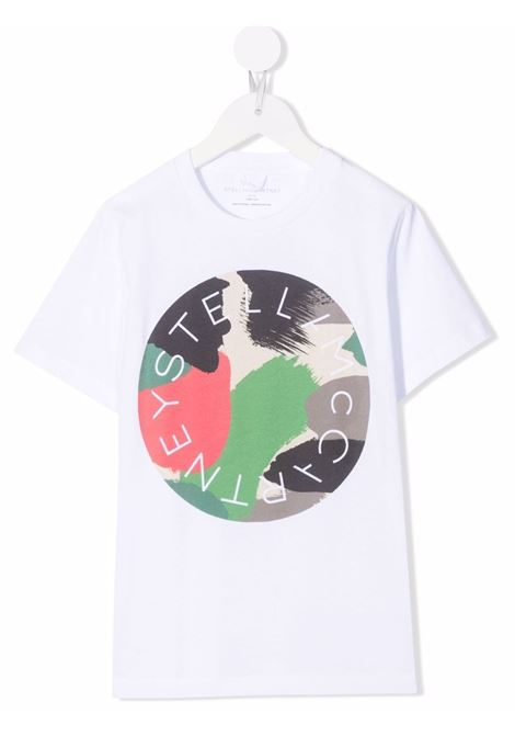 T-shirt bianco STELLA Mc.CARTNEY KIDS | 602253SRJ519000