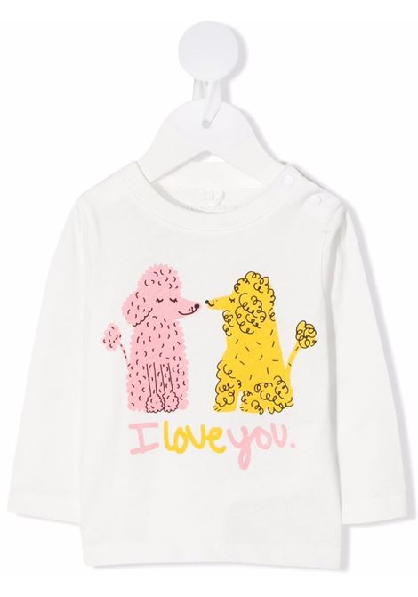 T-shirt bianca STELLA Mc.CARTNEY KIDS | 602598SRJ989100