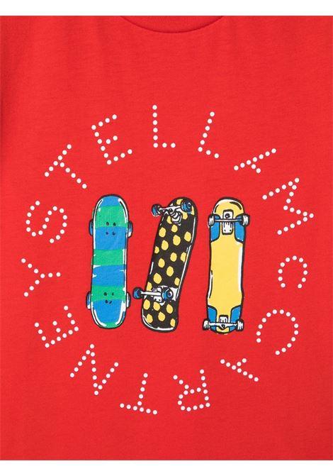 Red t-shirt STELLA Mc.CARTNEY KIDS | T-SHIRT | 603085BSQJG46013