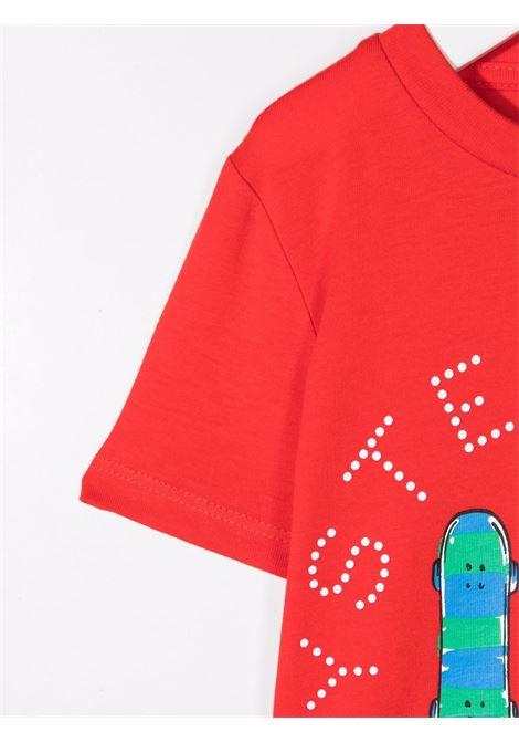 T-shirt rossa STELLA Mc.CARTNEY KIDS | T-SHIRT | 603085SQJG46013