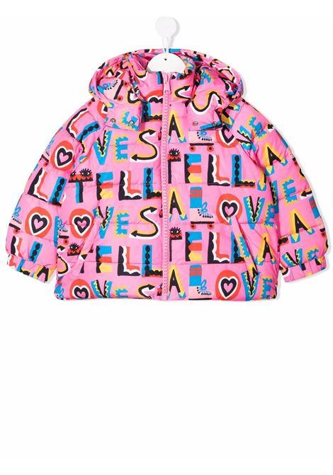 Multicolour padded jacket STELLA Mc.CARTNEY KIDS | 603292SRK40G503