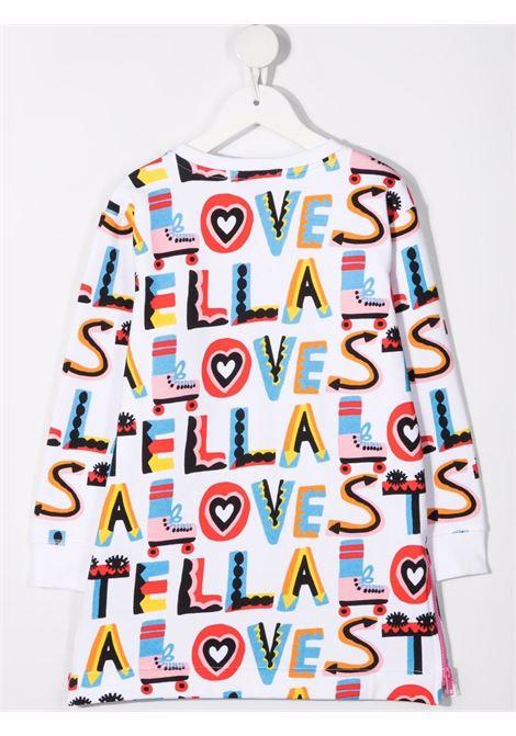 White/multicolour dress STELLA Mc.CARTNEY KIDS | 603443SRJF9G907