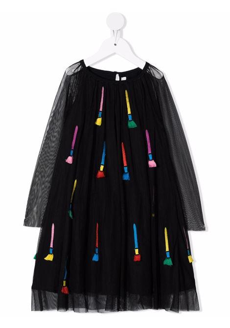 Black/multicolour dress STELLA Mc.CARTNEY KIDS | 603506SRK95G120