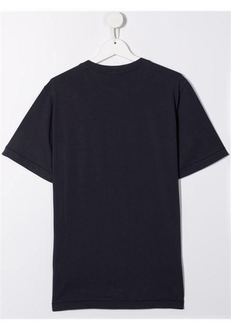 T-shirt nera STONE ISLAND KIDS | T-SHIRT | 751620147TV0020